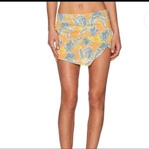 For love & lemons birds of paradise aloha skirt